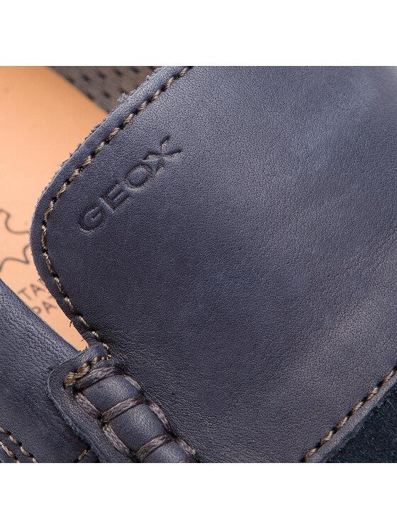 Geox Geox Mocassini U Delrick A U927AA 02243 C4002 Blu scuro