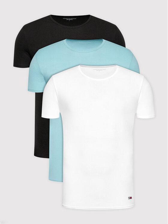 Tommy Hilfiger 3 marškinėlių komplektas Essential 2S87905187 Spalvota Regular Fit
