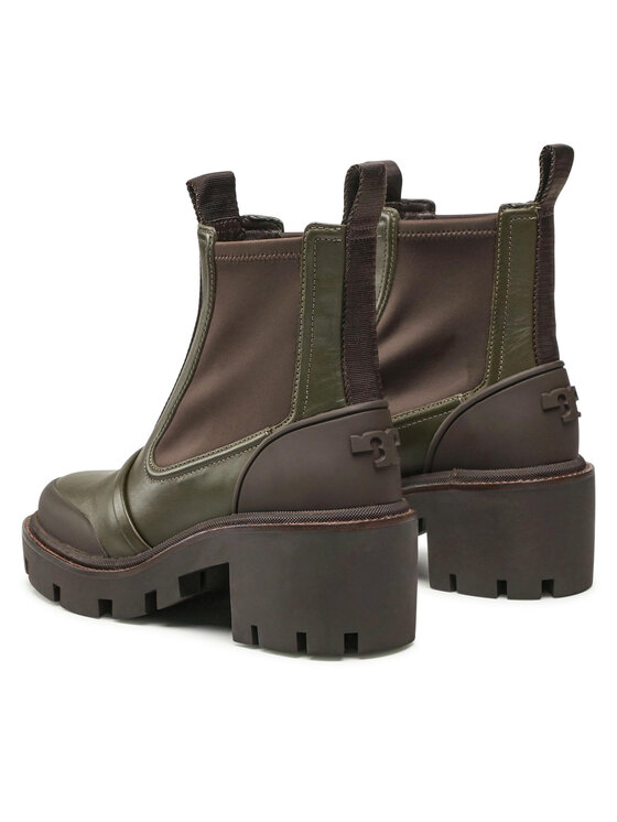 Tory Burch Tory Burch Čizme Chelsea Lug Ankle Boot 83900 Zelena