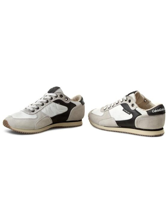 Calvin Klein Jeans Calvin Klein Jeans Sneakers Marcel Nylon/Suede/Leather S1436 Alb