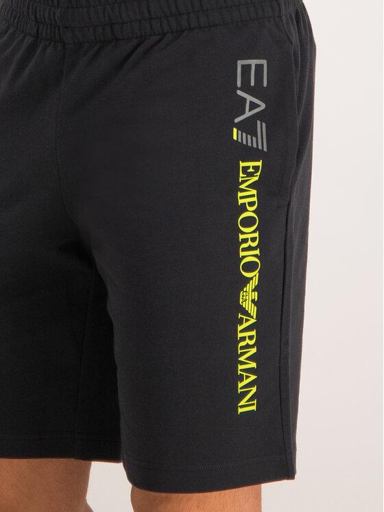 EA7 Emporio Armani EA7 Emporio Armani Pantaloncini sportivi 3GPS54 PJ05Z 1200 Nero Regular Fit