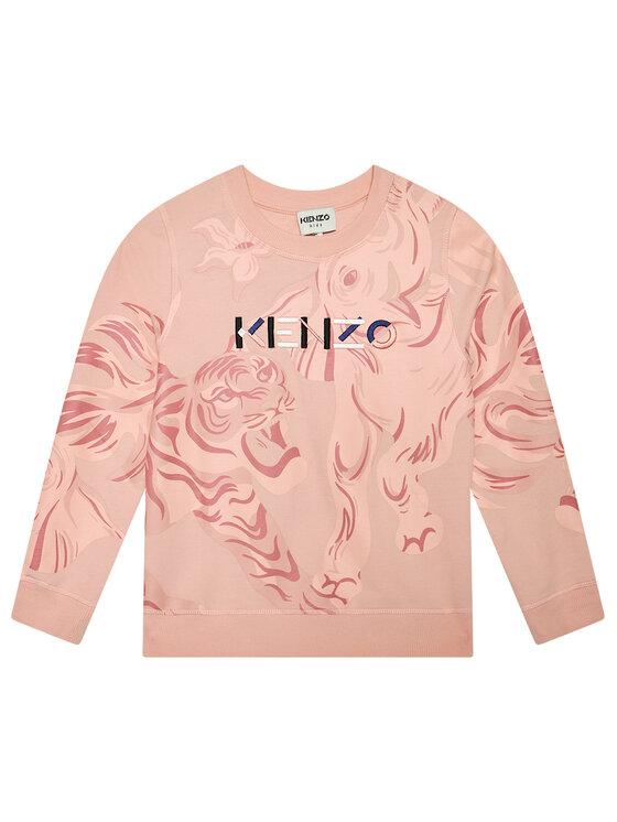 Kenzo Kids Džemperis K15060 S Rožinė Regular Fit