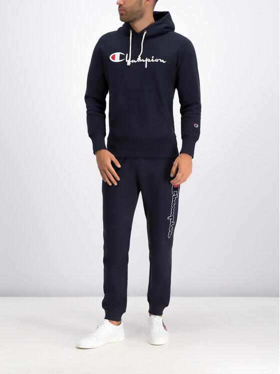 Champion Champion Teplákové kalhoty 212943 Tmavomodrá Regular Fit