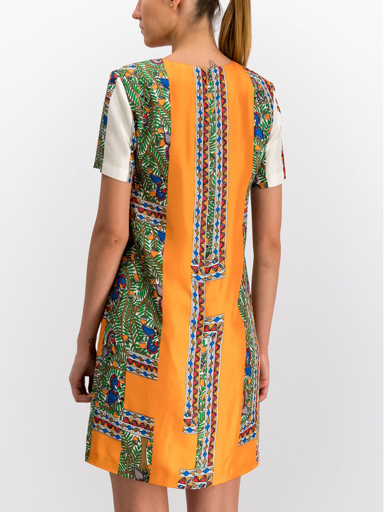 Tory Burch Tory Burch Φόρεμα καλοκαιρινό Printed Shift Dress 53914 Έγχρωμο Regular Fit