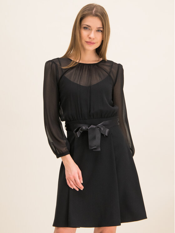 iBlues Kokteilinė suknelė 72261796 Juoda Regular Fit