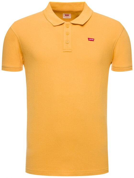 Levi's® Levi's® Polohemd Housemark 22401-0109 Gelb Regular Fit