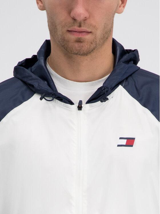 Tommy Sport Tommy Sport Windjacke S20S200143 Weiß Regular Fit