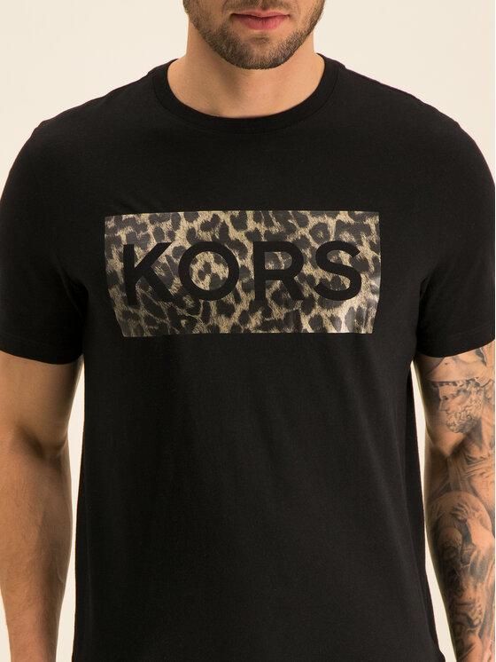 MICHAEL Michael Kors MICHAEL Michael Kors T-shirt Graphic CF95HX1FV4 Nero Regular Fit