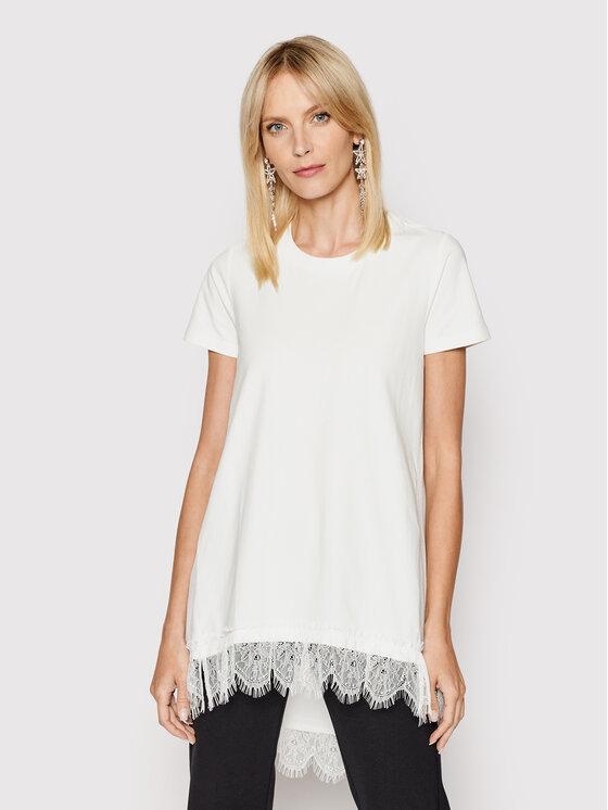 My Twin Marškinėliai 201MP2358 Balta Regular Fit