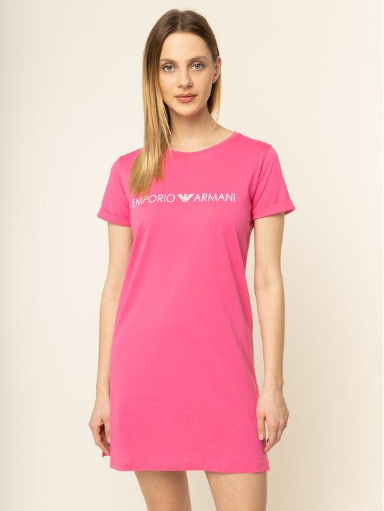 Emporio Armani Emporio Armani Sukienka plażowa 262634 0P340 00073 Różowy Regular Fit