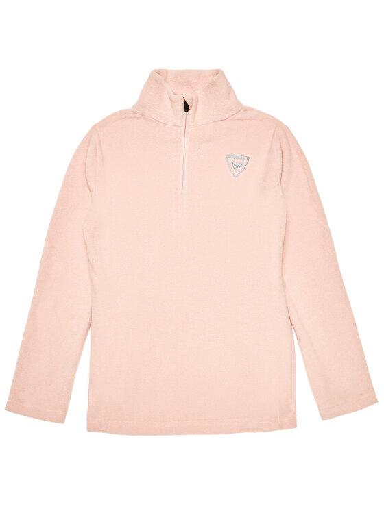 Rossignol Fliso džemperis 1/2 Zip RLIYL06 Rožinė Regular Fit