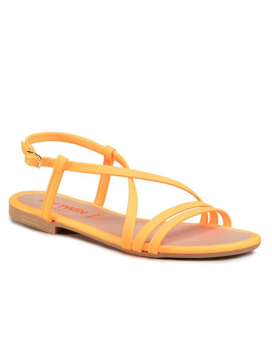 My Twin Basutės Sandal 201MCT010 Oranžinė