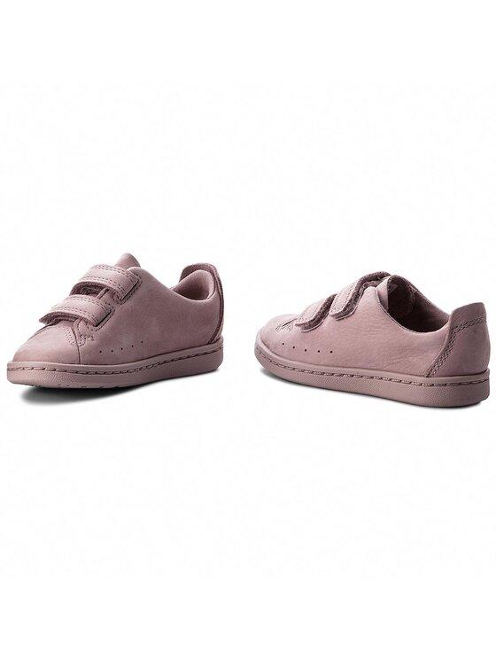 Clarks Clarks Sneakersy Nate Maze 261358306 Růžová