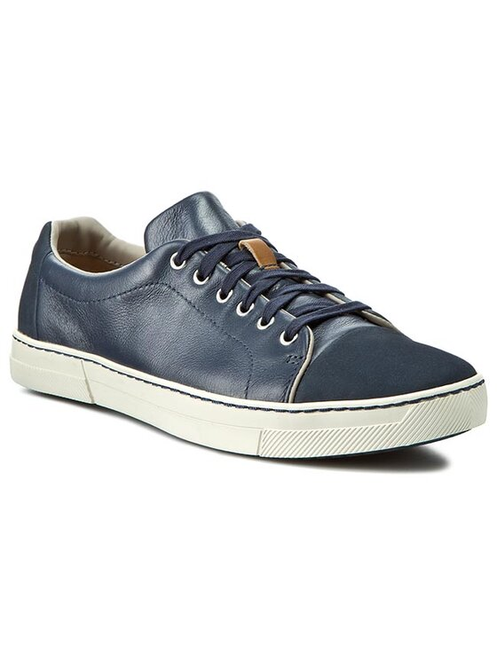 Clarks Clarks Sneakersy Ballof Walk 261125897 Modrá