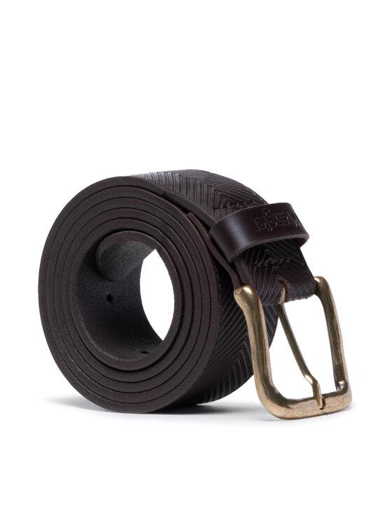 Wrangler Wrangler Pasek Męski Arrow Belt W0G5U1X85 Brązowy
