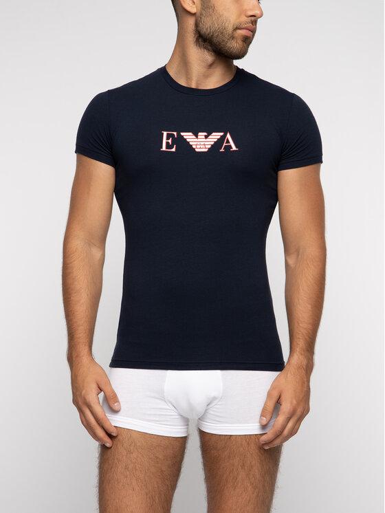 Emporio Armani Underwear Emporio Armani Underwear Marškinėliai 111035 9P523 00135 Tamsiai mėlyna Regular Fit