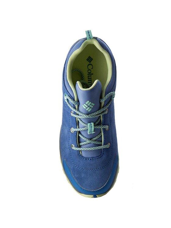Columbia Columbia Trekingová obuv Youth Venture BY2858 Modrá