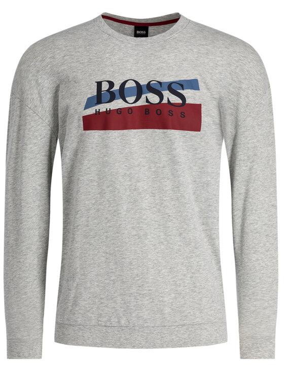 Boss Boss Džemperis 50414450 Pilka Regular Fit