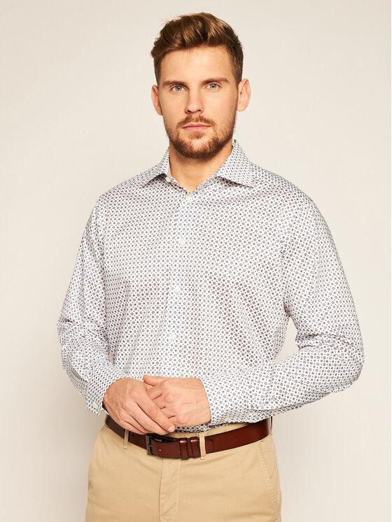 Eton Koszula 100001782 Biały Regular Fit