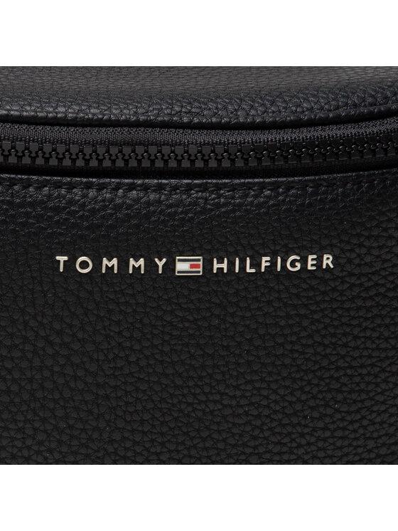 Tommy Hilfiger Tommy Hilfiger Saszetka nerka Essential Pu Crossbody AM0AM07799 Czarny