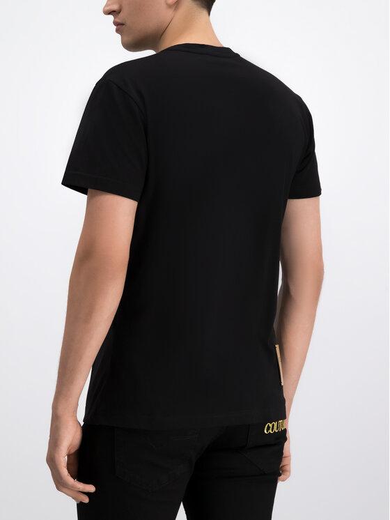 Versace Jeans Versace Jeans T-Shirt B3GTB7R2 Czarny Regular Fit