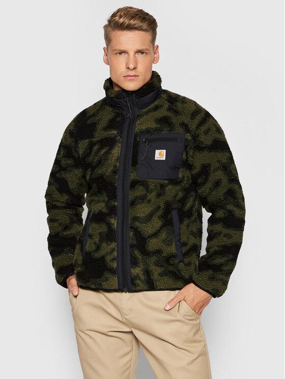 Carhartt WIP Fliso džemperis Prentis Liner I025120 Žalia Regular Fit