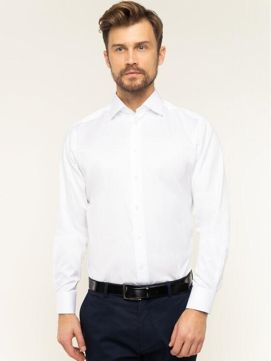 Eton Marškiniai 100000067 Balta Regular Fit