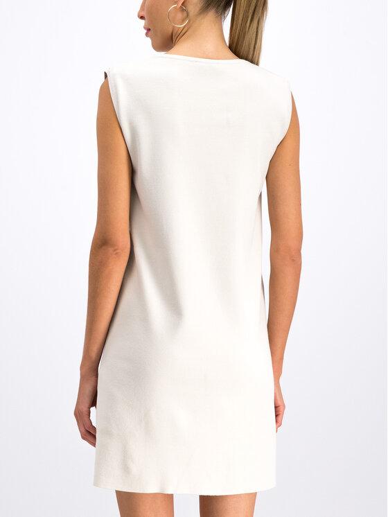 MAX&Co. MAX&Co. Bőr ruha 63249919 Fehér Regular Fit
