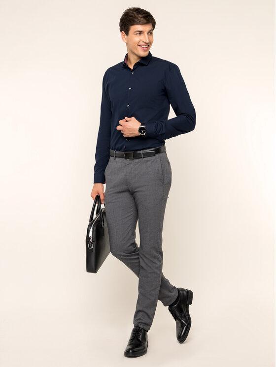 Hugo Hugo Koszula 50415270 Granatowy Extra Slim Fit