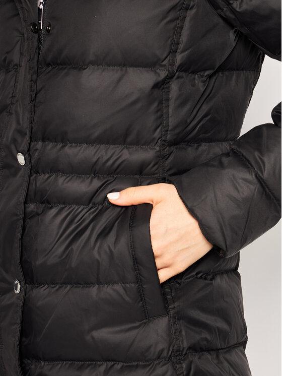 Tommy Hilfiger Tommy Hilfiger Μπουφάν πουπουλένιο New Tyra WW0WW25746 Μαύρο Regular Fit