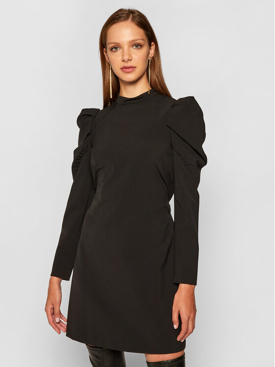 Pennyblack Kokteilinė suknelė Ercole 12240820 Juoda Regular Fit