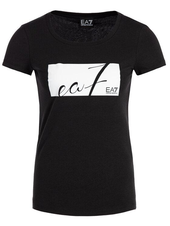 EA7 Emporio Armani EA7 Emporio Armani T-shirt 6GTT10 TJ12Z 1200 Nero Regular Fit