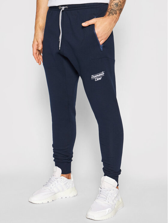 Diamante Wear Sportinės kelnės Unisex Hipster 5464 Tamsiai mėlyna Regular Fit