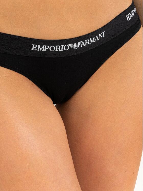 Emporio Armani Underwear Emporio Armani Underwear 2 db klasszikus alsó 163334 CC317 07320 Fekete