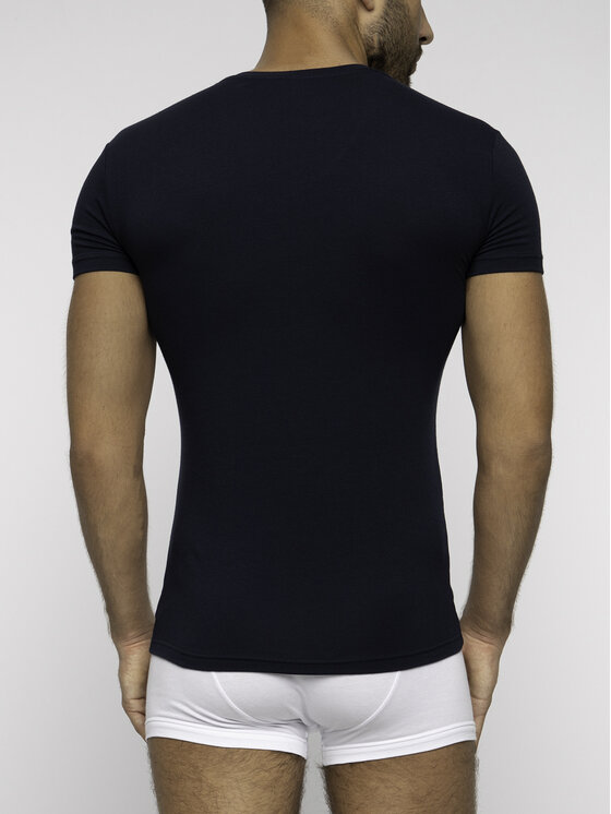 Emporio Armani Underwear Emporio Armani Underwear Tricou 110810 9P516 00135 Bleumarin Slim Fit
