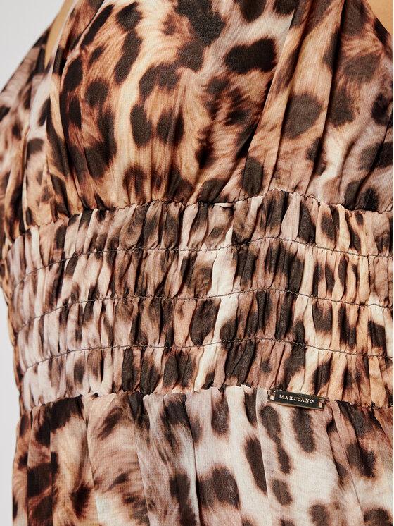 Marciano Guess Marciano Guess Sukienka wieczorowa 1GG723 7068Z Brązowy Regular Fit