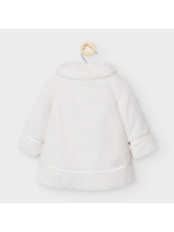 Mayoral Mayoral Átmeneti kabát 2465 Fehér Regular Fit
