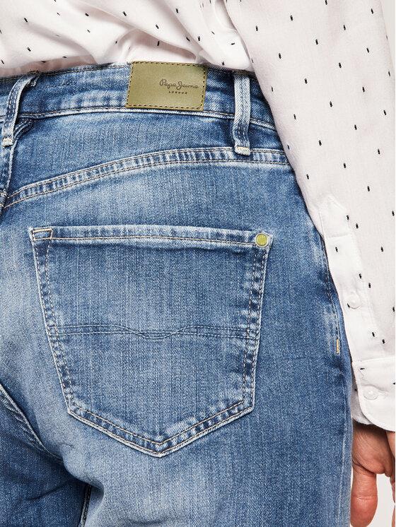 Pepe Jeans Pepe Jeans Džínsy Brigde PL203610WF5 Modrá Taper Fit