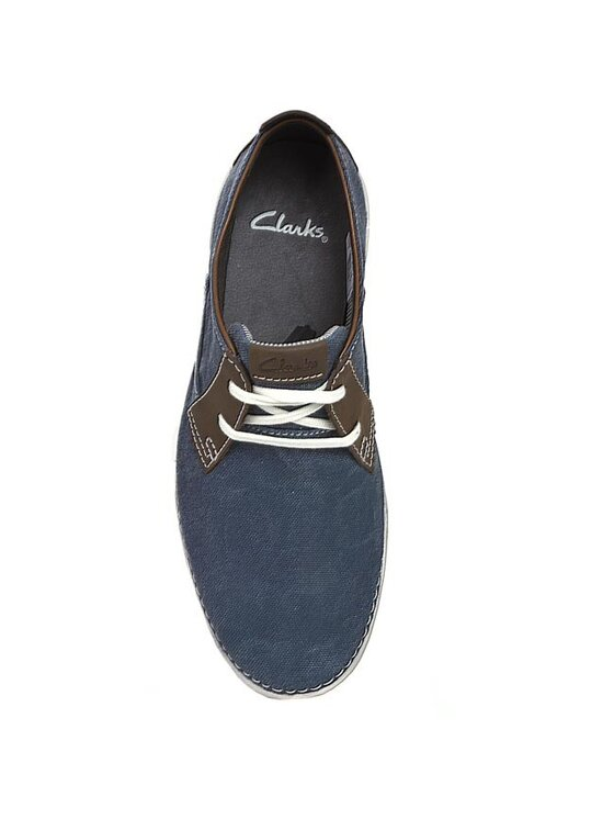 Clarks Clarks Félcipő Neelix Vibe 203587027 Kék