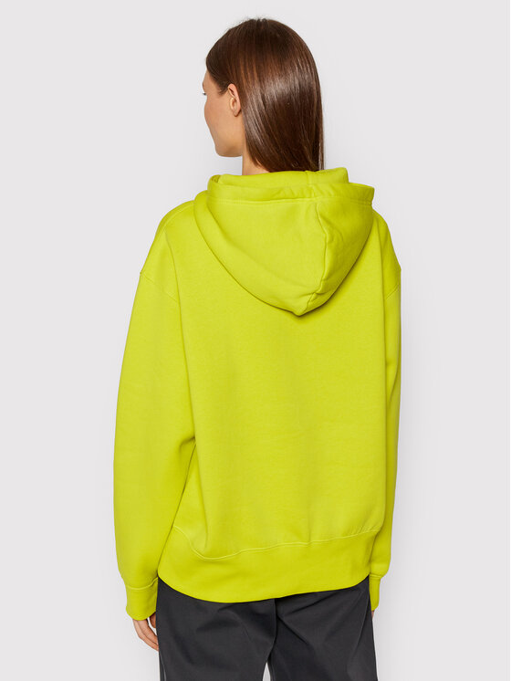 Nike Nike Majica dugih rukava Sportswear CZ2590 Zelena Oversize