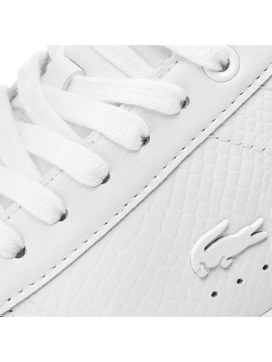 Lacoste Lacoste Sneakersy Carnaby Evo 317 3 Spw 7-34SPW0008001 Bílá
