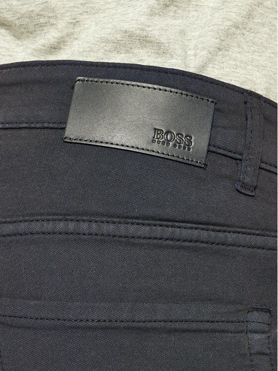 Boss Boss Medžiaginės kelnės Delaware3-10-20 50426230 Tamsiai mėlyna Slim Fit
