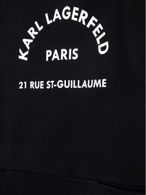 KARL LAGERFELD KARL LAGERFELD Hétköznapi ruha Z12134 M Fekete Regular Fit