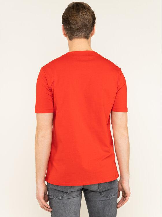 Hugo Hugo T-Shirt Dauber 50421646 Czerwony Regular Fit
