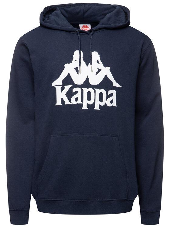 Kappa Kappa Felpa Taino 705322 Blu scuro Regular Fit