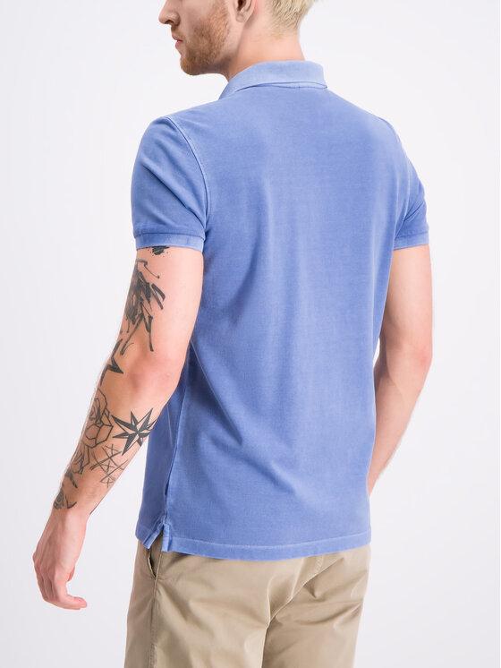 JOOP! Jeans Joop! Jeans Polo 30016355 Niebieski Modern Fit