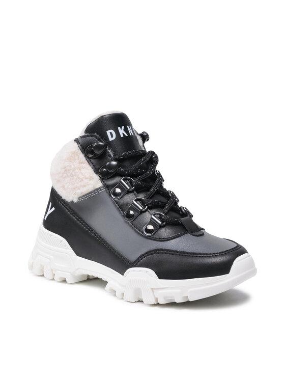 DKNY Auliniai batai D39057 Juoda