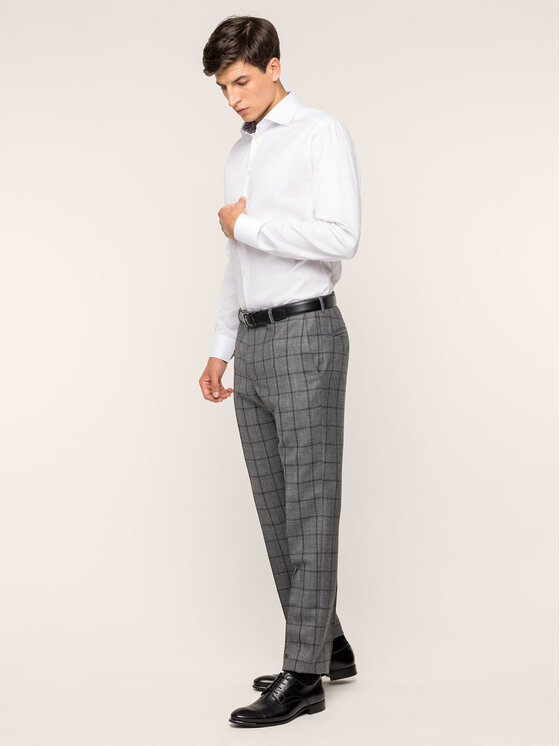 Eton Marškiniai 100000065 Balta Slim Fit