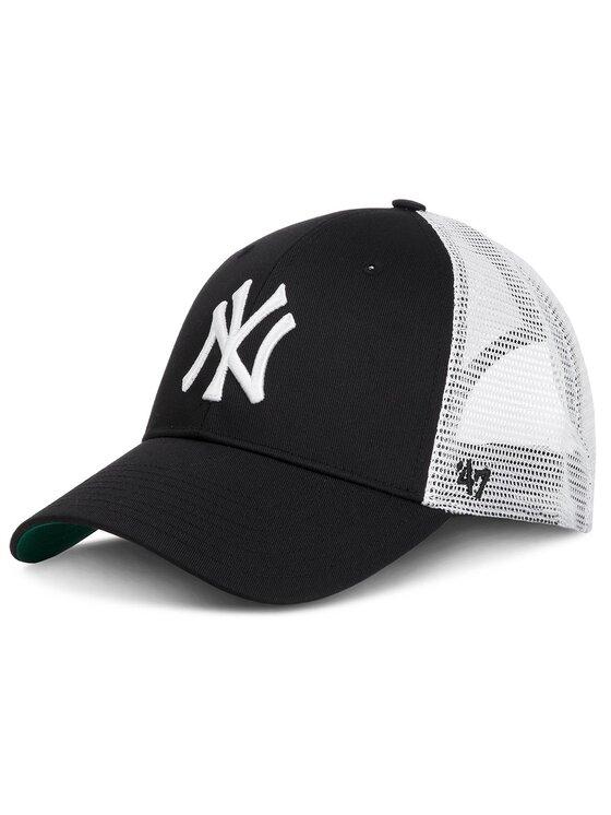 47 Brand Kepurė su snapeliu New York Yankees 47 BRAND-B-BRANS17CTP-BK Juoda