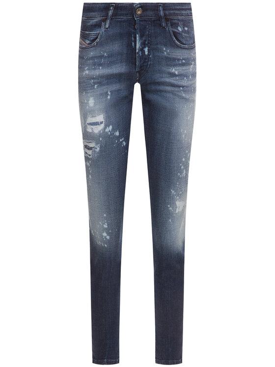 Diesel Diesel jeansy Skinny Fit Babhila 00S7L 0091Y Blu scuro Skinny Fit